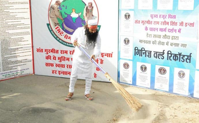 cleanliness earth campaign in noida