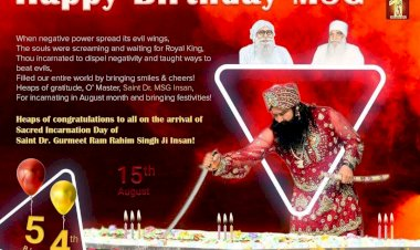 15th August 2021: 54th Incarnation Day - The Biggest Festivity for Millions