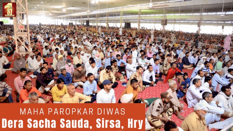 Glorious 'Great Benevolence Day' Celebrations Enthralled Everyone Globally!